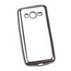 Чехол-накладка для Samsung Galaxy Core 2 (Liberti Project 0L-00030860) (прозрачный, черная рамка) - Чехол для телефонаЧехлы для мобильных телефонов<br>Чехол-накладка плотно облегает корпус телефона и гарантирует его надежную защиту от царапин и потертостей.<br>