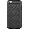 Чехол-аккумулятор для Apple iPhone 7 2500mAh (Baseus Plaid Backpack Power Bank ACAPIPH7-BJO1) (черный) - Чехол для телефонаЧехлы для мобильных телефонов<br>Стильный чехол и одновременно дополнительный аккумулятор. Устройство надежно защитит Ваш телефон от царапин, потертостей и нежелательных сколов, а также зарядит в нужный момент. Емкость 2500 mAh.<br>
