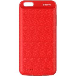 Чехол-аккумулятор для Apple iPhone 7 2500mAh (Baseus Plaid Backpack Power Bank ACAPIPH7-BJ09) (красный)