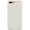 Чехол-аккумулятор для Apple iPhone 7 Plus 3650mAh (Baseus Plaid Backpack Power Bank ACAPIPH7P-BJO2) (белый) - Чехол для телефонаЧехлы для мобильных телефонов<br>Стильный чехол и одновременно дополнительный аккумулятор. Устройство надежно защитит Ваш телефон от царапин, потертостей и нежелательных сколов, а также зарядит в нужный момент. Емкость 3650 mAh.<br>
