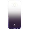 Чехол-накладка для Samsung Galaxy S8 (Baseus Glaze Case WISAS8-RL01) (черный) - Чехол для телефонаЧехлы для мобильных телефонов<br>Чехол плотно облегает заднюю крышку телефона, защищает от пыли, грязи, царапин и других негативных внешних воздействий.<br>