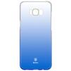 Чехол-накладка для Samsung Galaxy S8 (Baseus Glaze Case WISAS8-RL03) (синий) - Чехол для телефонаЧехлы для мобильных телефонов<br>Чехол плотно облегает заднюю крышку телефона, защищает от пыли, грязи, царапин и других негативных внешних воздействий.<br>