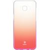 Чехол-накладка для Samsung Galaxy S8 (Baseus Glaze Case WISAS8-RL04) (розовый) - Чехол для телефонаЧехлы для мобильных телефонов<br>Чехол плотно облегает заднюю крышку телефона, защищает от пыли, грязи, царапин и других негативных внешних воздействий.<br>