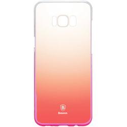 Чехол-накладка для Samsung Galaxy S8 (Baseus Glaze Case WISAS8-RL04) (розовый)