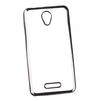 Чехол-накладка для Alcatel Pop 4 (Liberti Project 0L-00030788) (прозрачный, черная рамка) - Чехол для телефонаЧехлы для мобильных телефонов<br>Чехол-накладка плотно облегает корпус телефона и гарантирует его надежную защиту от царапин и потертостей.<br>