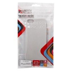 Чехол-накладка для Apple iPhone 5, 5s, SE (Liberti Project 0L-00031799) (серебристый)