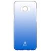 Чехол-накладка для Samsung Galaxy S8 Plus (Baseus Glaze Case WISAS8P-RL03) (синий) - Чехол для телефонаЧехлы для мобильных телефонов<br>Чехол плотно облегает заднюю крышку телефона, защищает от пыли, грязи, царапин и других негативных внешних воздействий.<br>