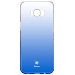 Чехол-накладка для Samsung Galaxy S8 Plus (Baseus Glaze Case WISAS8P-RL03) (синий)
