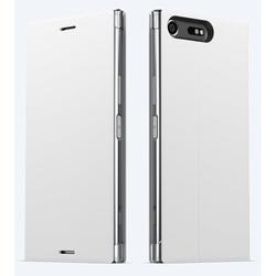 Чехол-подставка для Sony Xperia XZ Premium (Sony SCSG10) (белый)