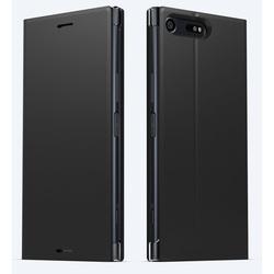 Чехол-подставка для Sony Xperia XZ Premium (Sony SCSG10) (черный)