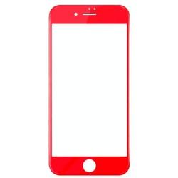 Защитное стекло для Apple iPhone 7 (Baseus PET Soft 3D Anti-Blue Light SGAPIPH7-TES09) (красный)
