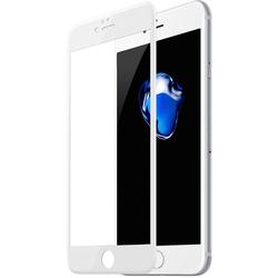 Защитное стекло для Apple iPhone 6, 6s (Baseus Silk printing 3D Anti Soft Film SGAPIPH6S-DE02) (белый)