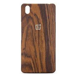 Чехол-накладка для OnePlus OnePlus X (Oneplus Rosewood Case 0208001203) (коричневый)