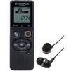 Olympus VN-541PC + наушники E39 (черный) - Диктофон