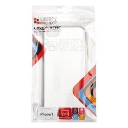 Чехол-накладка для Apple iPhone 7 (Liberti Project 0L-00031801) (серебристый)