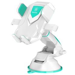 Универсальный автомобильный держатель (Baseus Robot Car Bracket With Sucker SUROB-13) (белый)