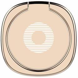 Универсальный автомобильный держатель-кольцо (Baseus Privity Ring Bracket) (золотистый)