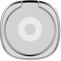 Универсальный автомобильный держатель-кольцо (Baseus Privity Ring Bracket) (серебристый)