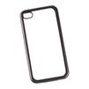 Чехол-накладка для Apple iPhone 4, 4s (Liberti Project 0L-00031007) (прозрачный, черная рамка) - Чехол для телефонаЧехлы для мобильных телефонов<br>Чехол-накладка плотно облегает корпус телефона и гарантирует его надежную защиту от царапин и потертостей.<br>
