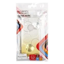 Чехол-накладка для Apple iPhone 5, 5s, SE (Liberti Project 0L-00032041) (желтый)