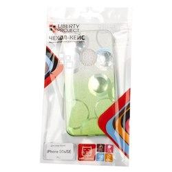 Чехол-накладка для Apple iPhone 5, 5S, SE (Liberti Project 0L-00032043) (зеленый)