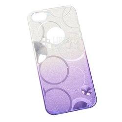 Чехол-накладка для Apple iPhone 5, 5S, SE (Liberti Project 0L-00032045) (фиолетовый)