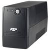 FSP Viva 800 2xEuro (PPF4800700) (черный) - Источник бесперебойного питания, ИБПИсточники бесперебойного питания<br>Интерактивный ИБП, 1-фазное входное напряжение, выходная мощность 800 ВА / 480 Вт, выходных разъемов: 2, разъемов с питанием от батареи: 2, время зарядки 6 ч.<br>