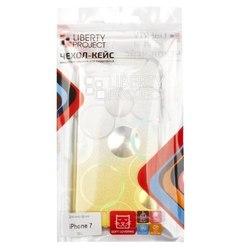 Чехол-накладка для Apple iPhone 7 (Liberti Project 0L-00032053) (желтый)