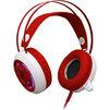 Redragon Sapphire (красный, белый) - Компьютерная гарнитураКомпьютерные гарнитуры<br>Redragon Sapphire - гарнитура, игровая, кабель 2.5 м, оголовье, накладные полноразмерные. Светодиодная подсветка корпуса, регулятор громкости. 32 Ом, 115 дБ, 20–20000 Гц.<br>