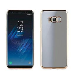 Чехол-накладка для Samsung Galaxy S8 Plus (Muvit Bling Case MLBKC0158) (золотистый)