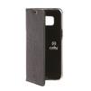 Чехол-книжка для Samsung Galaxy S8 (Celly Air Case AIR690BKCP) (черный с хлястиком) - Чехол для телефонаЧехлы для мобильных телефонов<br>Чехол плотно облегает корпус и гарантирует надежную защиту от царапин и потертостей.<br>