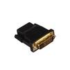 Переходник HDMI (F)-DVI-D (M) (Exegate EX191105RUS) (черный) - HDMI кабель, переходникHDMI кабели и переходники<br>Материал проводников: медь, разъемы: DVI-D 25pin (M) (dual link), HDMI 19pin (F), покрытие контактов: золото, наличие экрана, поддержка версии HDMI: 1.4b.<br>