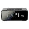 GiNZZU GM-884B (черный) - Колонка для телефона и планшетаПортативная акустика<br>Портативная Bluetooth стерео колонка с часами, мощность: 2x5 Вт, диапазон воспроизводимых частот: 80-18000 МГц.<br>