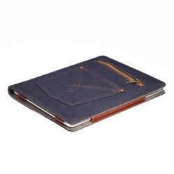 Чехол-подставка для планшета Apple iPad 9.7 2017 (IT BAGGAGE Jeans ITIPAD58-4) (синий)