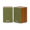 SmartBuy FUSION (вишнево-зеленый) - Колонка для компьютераКомпьютерная акустика<br>Мультимедийные стерео колонки 2.0, мощность 6 Вт, диапазон воспроизводимых частот: 150-19000 МГц, интерфейс соединения: проводное: 3.5мм.<br>