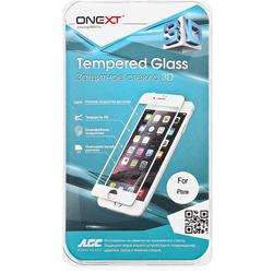 Защитное стекло для Apple iPhone 7 (Onext 3D 41325) (красный)