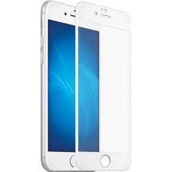 Защитное стекло для Apple iPhone 7 Plus (Perfeo 3D Gorilla PF-TG-3GM-IPH7+W) (белый матовый)