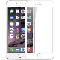 Защитное стекло для Apple iPhone 7 Plus (Perfeo Full Screen Gorilla PF-TG-FG-IPH7+W) (белый)