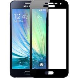 Защитное стекло для Samsung Galaxy A3 2016 (Perfeo Full Screen Asahi PF-TG-FA-SAM-A3(16)B) (черный)