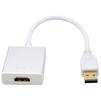 Переходник USB 3.0 AM - HDMI 19F (Greenconnect GCR-U32HD2) (белый) - Usb, hdmi кабельUSB-, HDMI-кабели, переходники<br>Позволяет подключить телевизор, монитор или проектор с интерфейсом HDMI с помощью обыкновенного USB порта.<br>