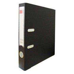 Папка-регистратор Deli E39593BLACK A4 50мм полипропилен, бумага черный мет.окант. разборная смен.карм. на кор.