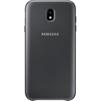 Чехол накладка для Samsung Galaxy J7 (2017) (Dual Layer Cover EF-PJ730CBEGRU) (черный) - Чехол для телефонаЧехлы для мобильных телефонов<br>Надежно защитит смартфон от внешних воздействий, попадания грязи, пыли и брызг.<br>
