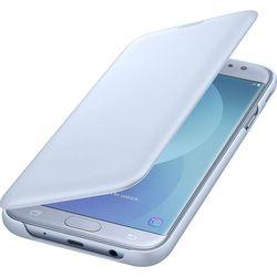 Чехол книжка для Samsung Galaxy J7 (2017) (Flip Wallet EF-WJ730CLEGRU) (голубой)