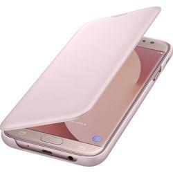 Чехол книжка для Samsung Galaxy J7 (2017) (Flip Wallet EF-WJ730CPEGRU) (розовый)