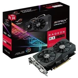 ASUS Radeon RX 560 1275Mhz PCI-E 3.0 4096Mb 7000Mhz 128 bit DVI HDMI HDCP Strix Gaming (ROG-STRIX-RX560-4G-GAMING) RTL