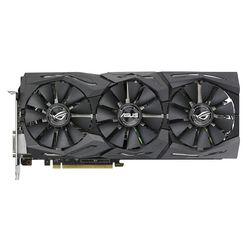 ASUS GeForce GTX 1080 1695Mhz PCI-E 3.0 8192Mb 11010Mhz 256 bit DVI 2xHDMI HDCP Strix OC (ROG-STRIX-GTX1080-O8G-11GBPS) RTL