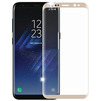 Защитное стекло для Samsung Galaxy S8 Plus (Onext 3D 41266) (золотистая рамка) - ЗащитаЗащитные стекла и пленки для мобильных телефонов<br>Защитное стекло предназначено для защиты дисплея устройства от царапин, ударов, сколов, потертостей, грязи и пыли.<br>