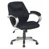 Кресло руководителя COLLEGE H-8703F-2A (черный) - Стул офисный, компьютерныйКомпьютерные кресла<br>COLLEGE H-8703F-2A - кресло руководителя, обивка ткань, максимальный вес 120 кг, подлокотники пластик, мягкие накладки, крестовина пластик, крашенный под металл. Регулировка высоты сиденья, механизм качания, регулировка высоты сиденья: «газлифт».<br>