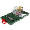 Bosch X-line Titanium 2607019324 (30 шт.) (зеленый) - Набор инструментовНаборы инструментов<br>Набор бит и сверл, 30 предметов в комплекте, кейс.<br>
