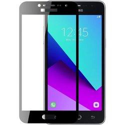 Защитное стекло для Samsung Galaxy J3 2017 (Perfeo Full Screen Asahi PF-TG-FA-SAM-J3(17)B) (черный)